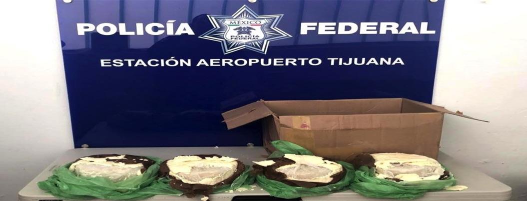 Aseguran 15 mil kilos de cristal ocultos en bultos de queso en Tijuana