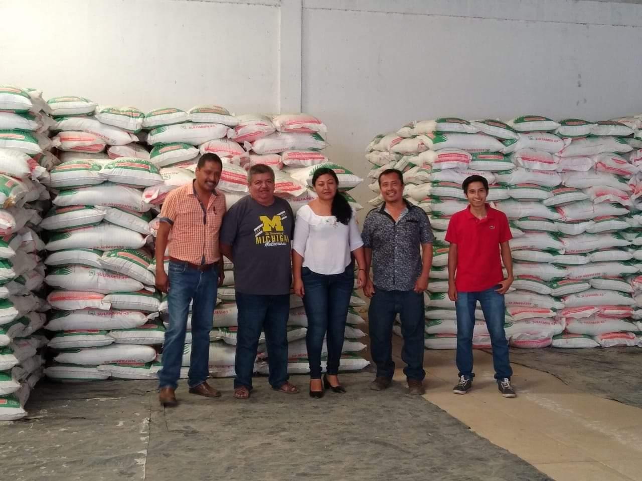 Fertilizante en Ometepec