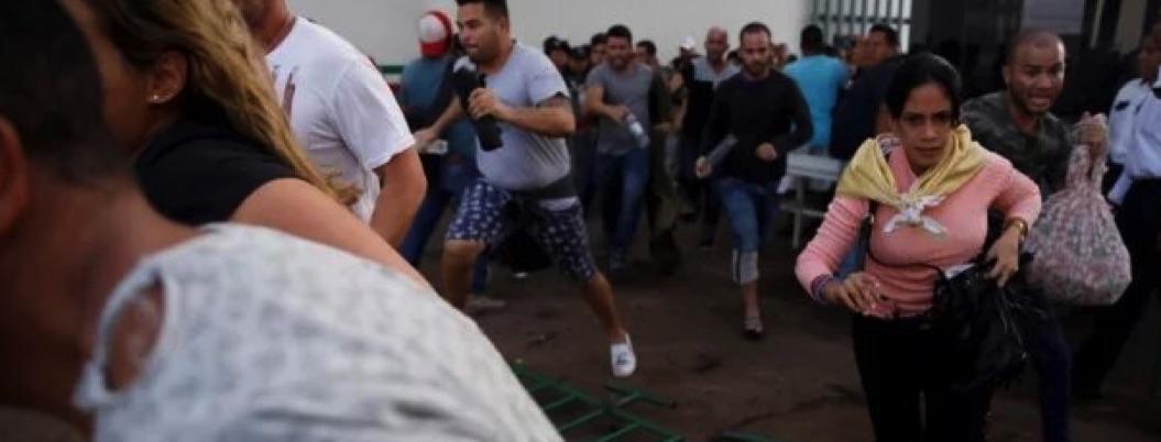 Migrantes se fugan por enésima vez de estación de INM en Chiapas