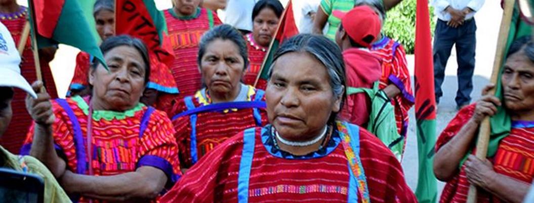 Indigenas exigen reconocimiento de derechos y protección a sus tierras