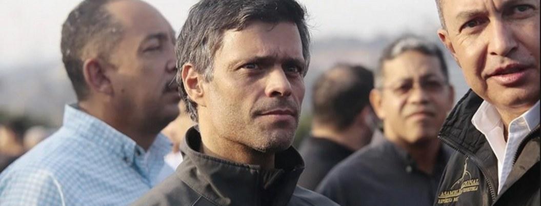 Tribunal ordena aprehensión de líder opositor Leopoldo López