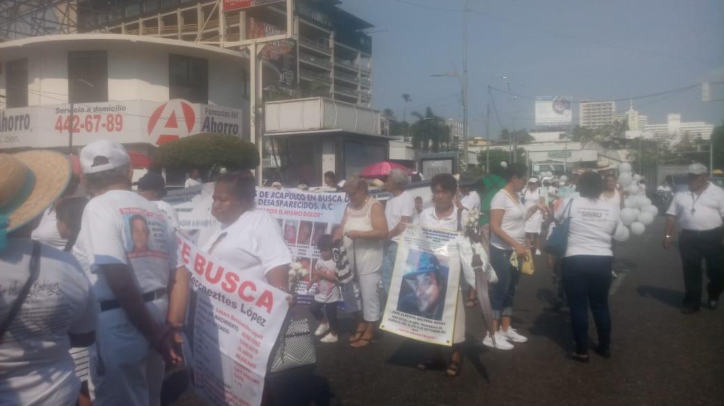 Madres desaparecidos Marcha