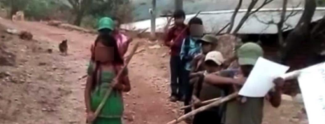 Difunden video de niños comunitarios declarando guerra a Los Ardillos