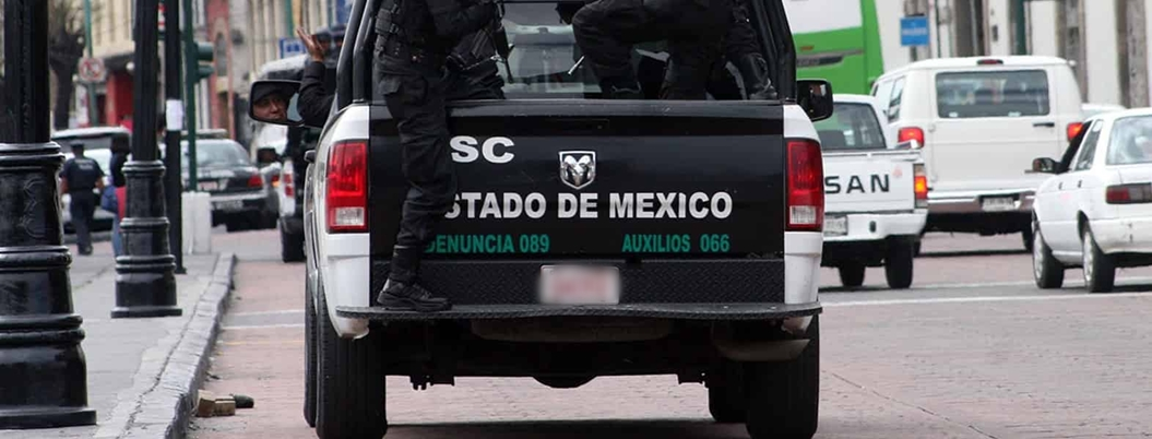 Policía de estados aledaños delinquen en la Ciudad de México