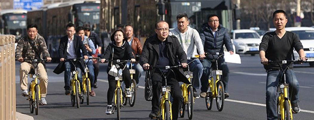 Beijing abrirá el viernes su primera autopista para bicicletas