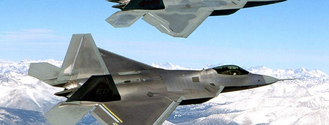 Interceptan cazas F-22 de EU a 6 aeronaves rusas en costa de Alaska