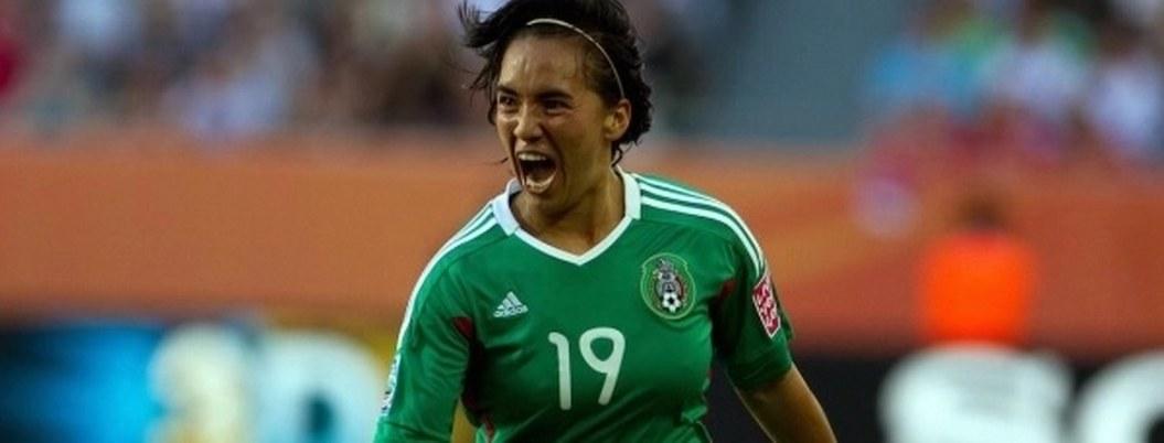 Eligen gol de Mónica Ocampo como el mejor de la historia