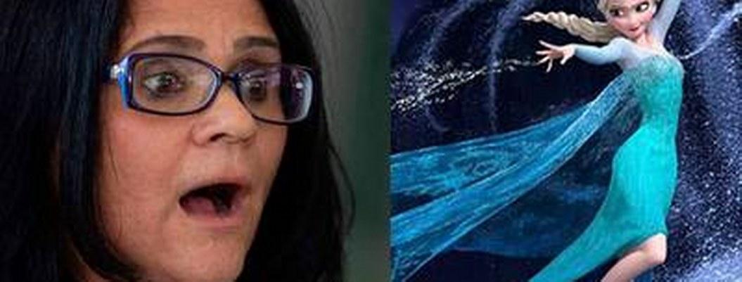 """""""Frozen"""" convierte a niñas en lesbianas, acusa ministra brasileña"""