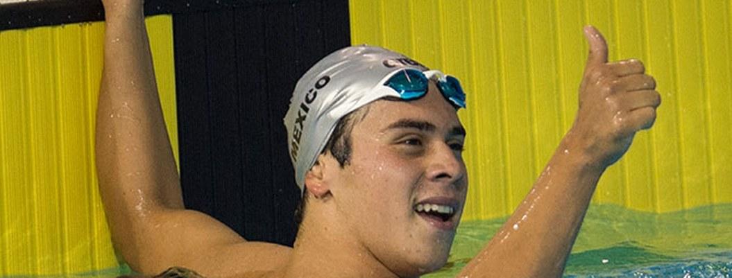 Nadador mexicano Ricardo Vargas tercero en TRY ProSwim en EU
