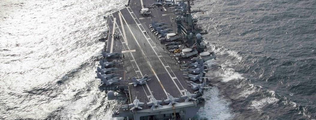 Portaaviones Abraham Lincoln se aproxima al Golfo Pérsico