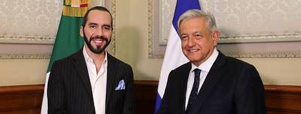 AMLO destaca reunión con presidente de El Salvador
