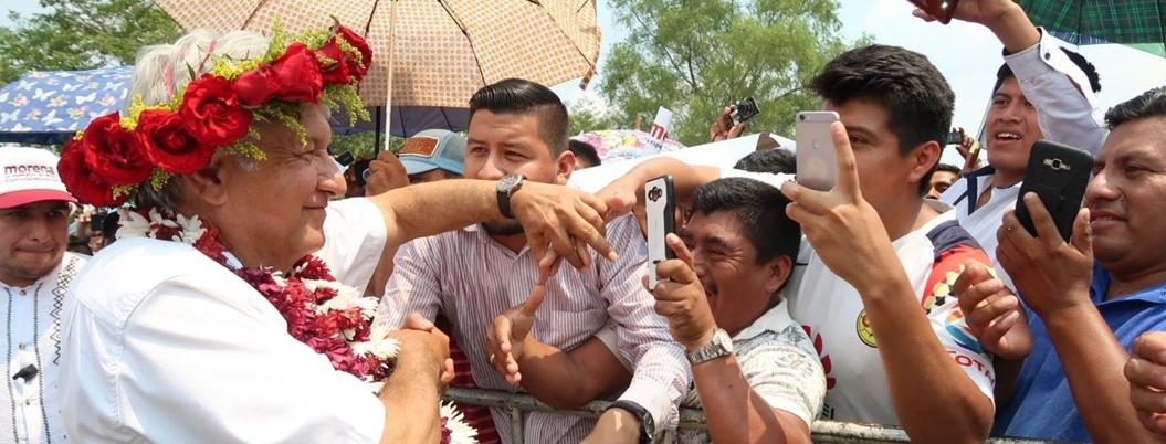 Votarían hoy 71% de mexicanos a favor de continuidad de AMLO