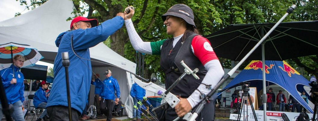 Mexicana obtiene plaza olímpica para tiro con arco al vencer a francesa