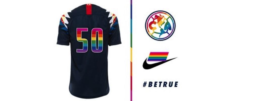 Aguilas del América vestirá el arcoíris del orgullo LGBTTTI