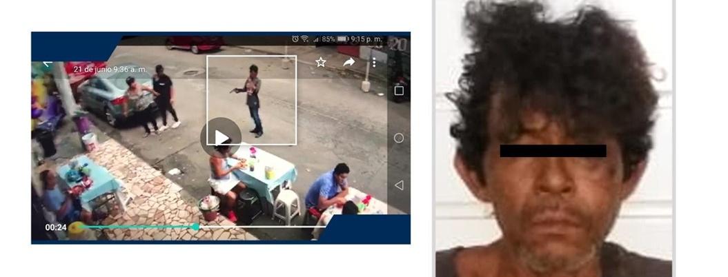 Detienen a presunto asaltante de comensales en Acapulco