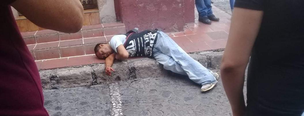 Balacera deja un muerto y un herido en pleno corazón de Taxco