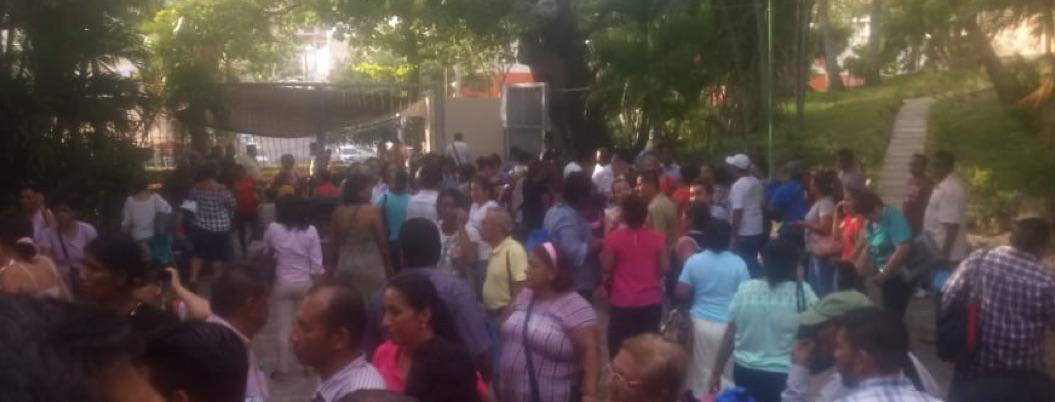 Continúa paro de sindicalizados del Ayuntamiento de Acapulco