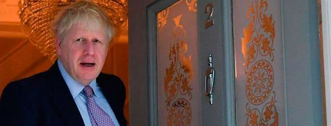 Johnson, favorito a suceder a May, tuvó pelea doméstica; policía intervino