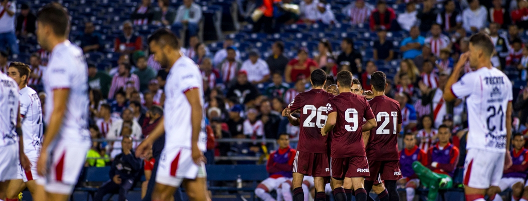 River Plate le mete una paliza a las Chivas en EU