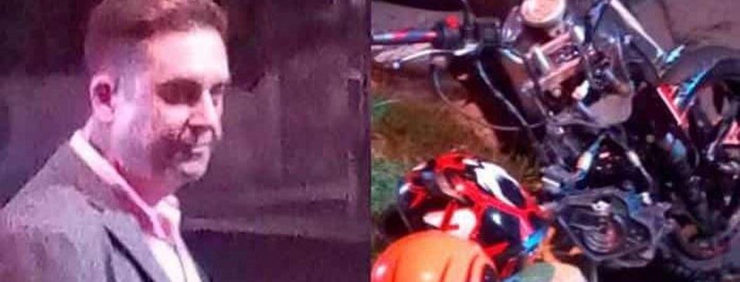 """""""Yo no no me lleve a motociclista, el me estrelló"""", dice Bisogno"""