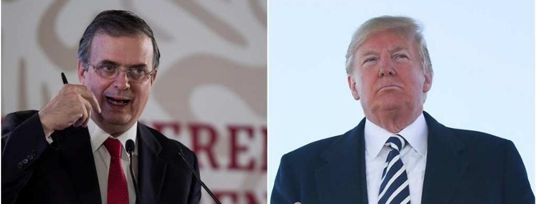 """Ebrard lanza indirecta a Trump: """"algunos desgobiernan desde Twitter"""""""