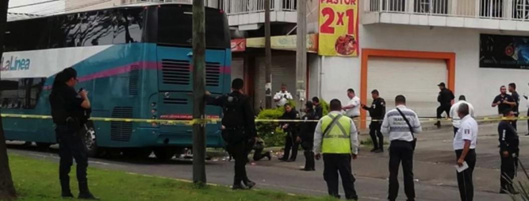 Granada de humo, el artefacto que estalló en autobús en Michoacán