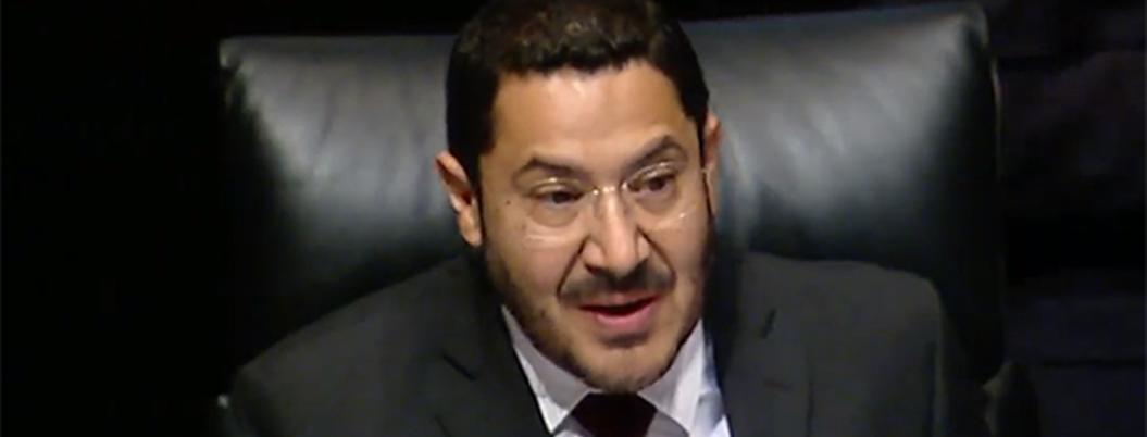 Senado no debate reelección presidencial: Martí Batres