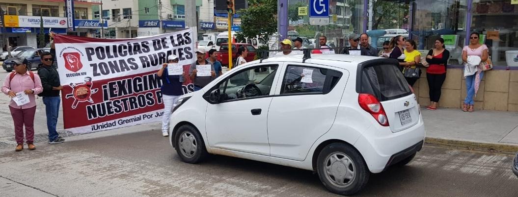 Mantienen paro sindicatos del Ayuntamiento de Chilpancingo