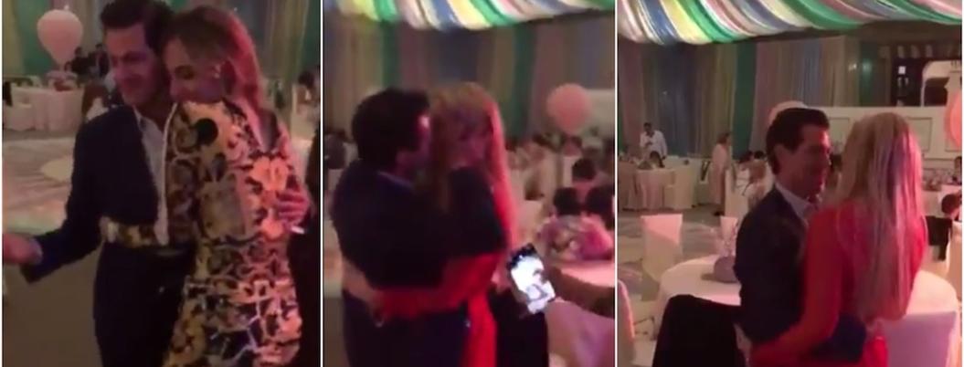 Peña baila con Tania Ruiz para olvidarse de investigación en su contra
