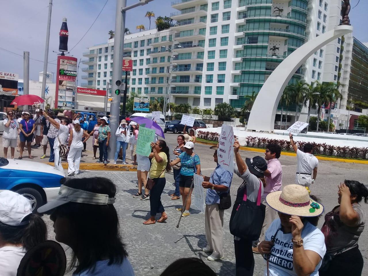 Protesta contra AMLO Acapulco