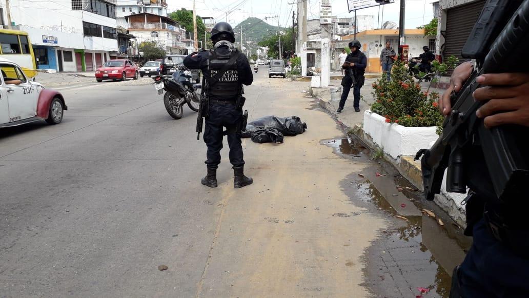 Restos humanos en Acapulco 2