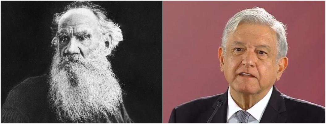 Tolstói, y su gran influencia religiosa en el presidente de México