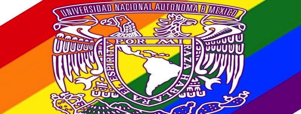 Escudo de la UNAM se pinta de arcoíris y enciende las redes sociales