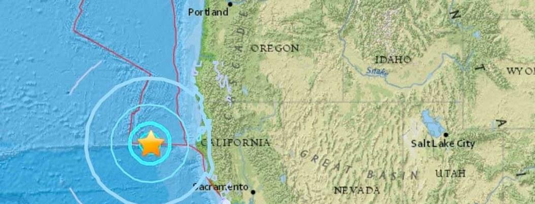Sismo de 5.6 grados Richter sacude el norte de California