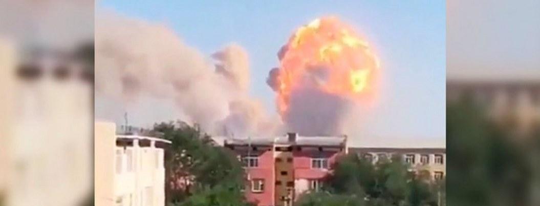 Explosiones de arsenal en Kazajistán dejan 2 muertos y 15 heridos