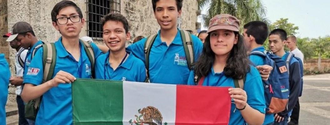 Mexicanos se llevan dos oros y una plata en Olimpíada Matemática