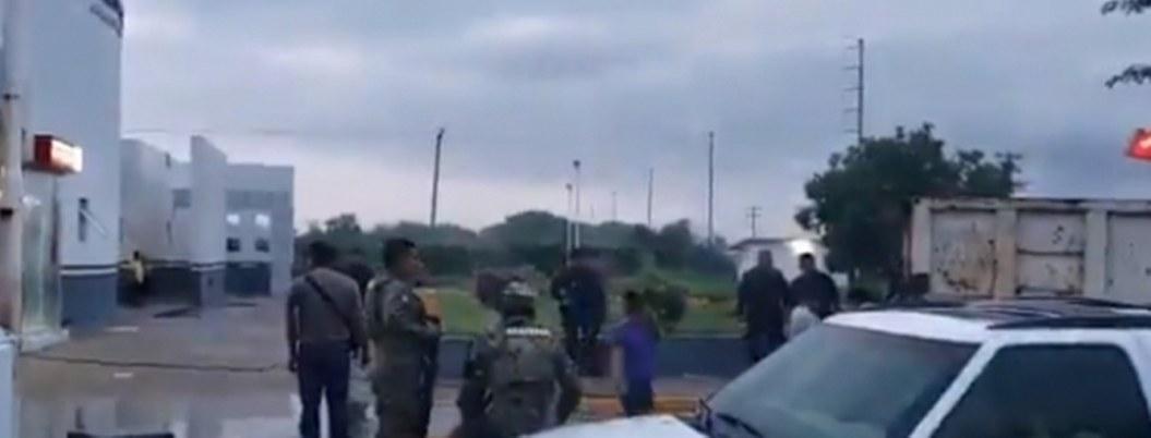 Sorprenden a grupo armado que intentaba arrancar cajero en Oaxaca