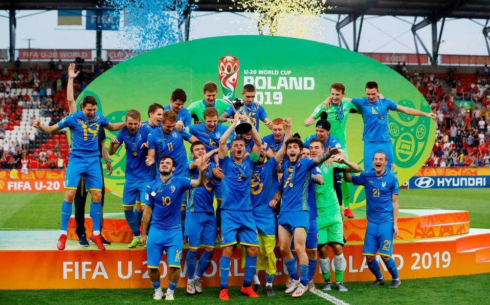 Ucrania vence a Corea del Sur y es campeón del Mundial Sub-20