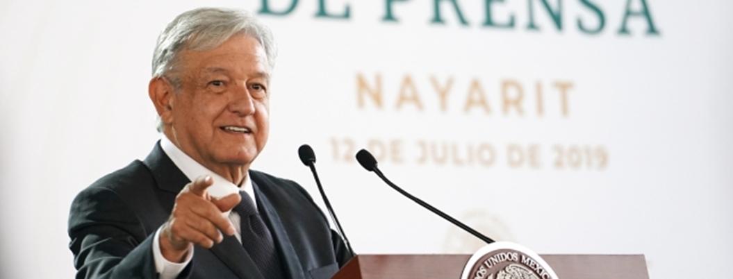 """""""No autoricé ampliación de mandato en BC"""", señala Andrés Manuel"""