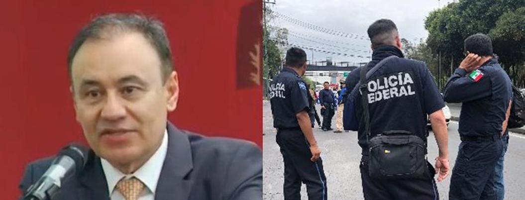 Alfonso Durazo pide informe de policías amotinados