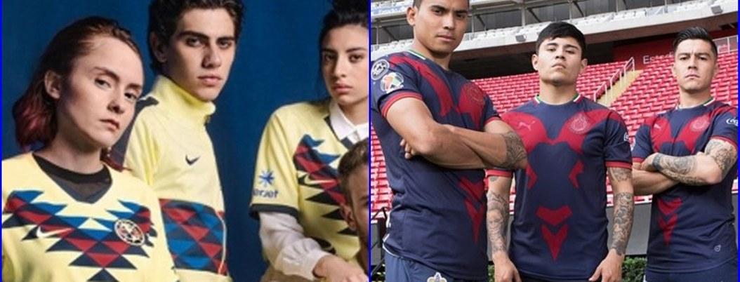 América y Chivas presentan uniforme para el Torneo Apertura 2019