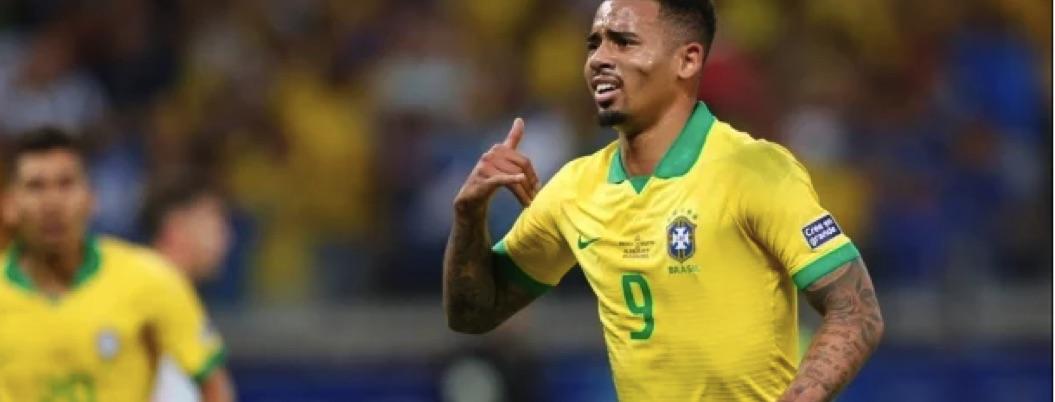Argentina pierde ante Brasil 2-0 ; queda fuera de Copa América
