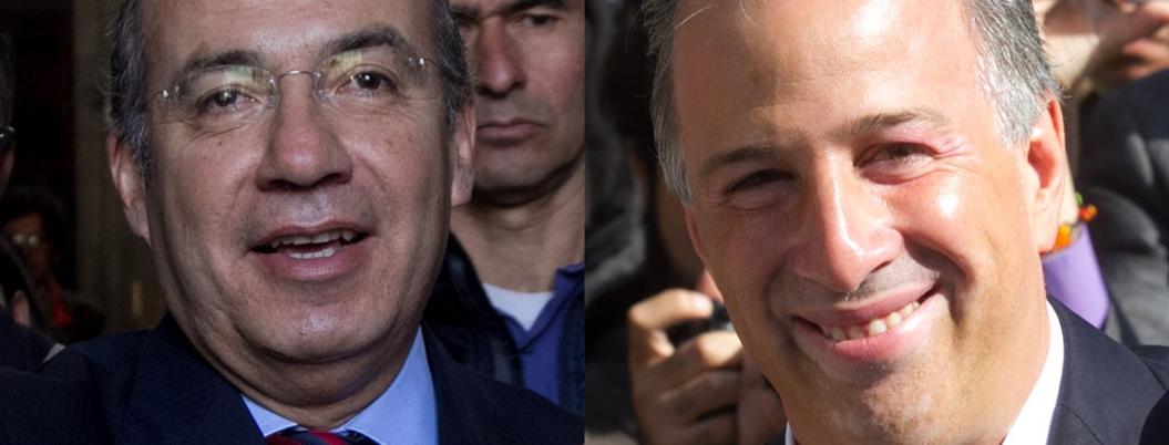 Calderón se burla de nerviosismo de Herrera; Meade le echa porras