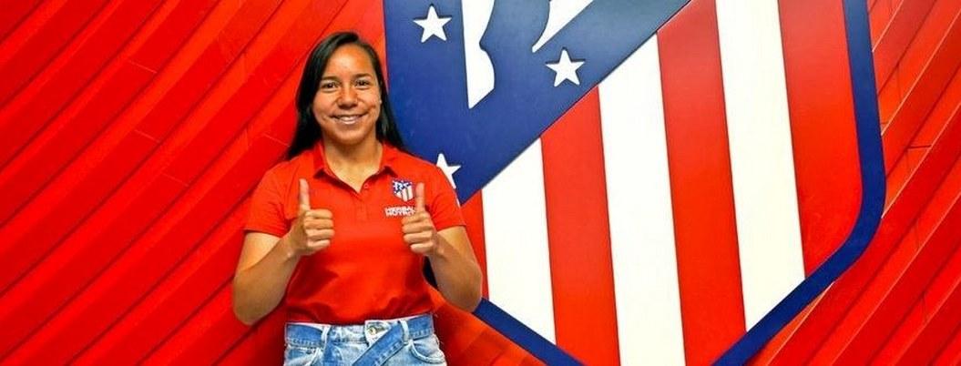 Charlyn Corral, la mexicana que buscará hacer historia en el Atlético