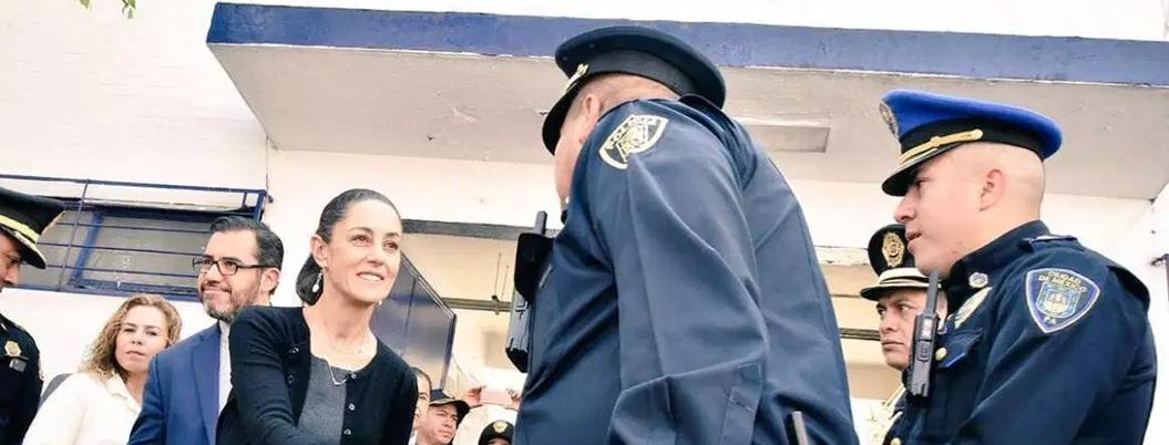 Sheinbaum pide más esfuerzo a la policía por una CDMX segura