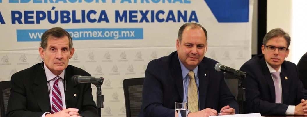 """""""Buena noticia"""" que México no esté en recesión técnica: Coparmex"""