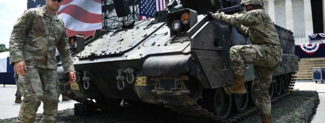 EU celebra Día de la Independencia; Trump quiere celebrar con tanques
