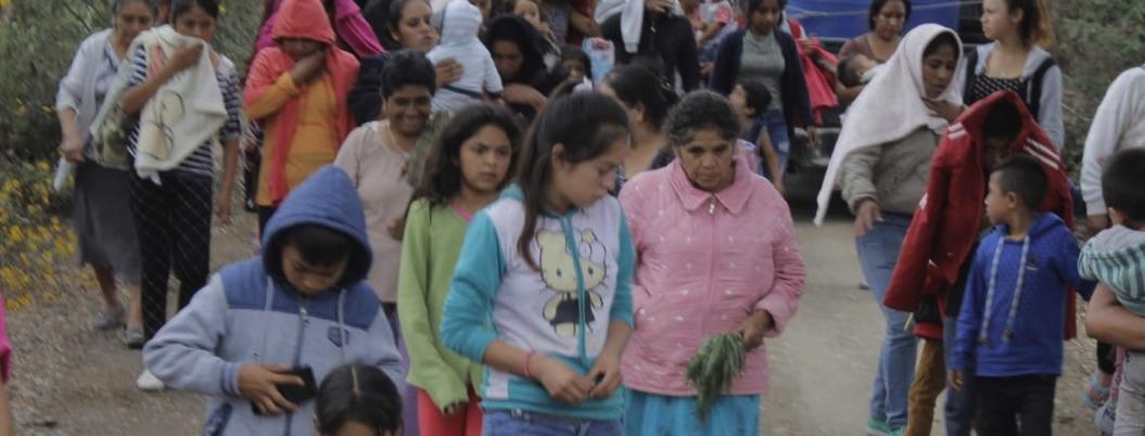 Desplazados de El Naranjo no quieren ser ubicados por temor: ONG