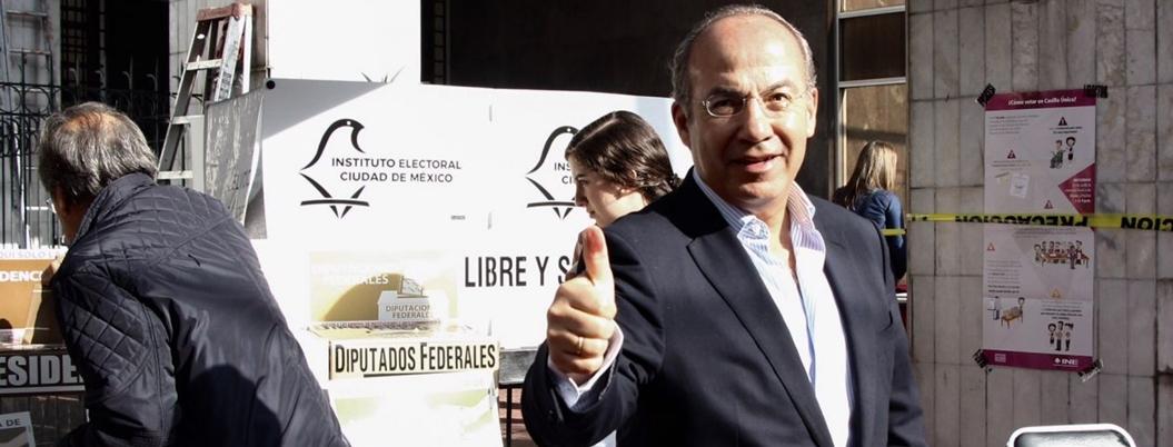 Calderón competirá por un puesto en elecciones de 2021