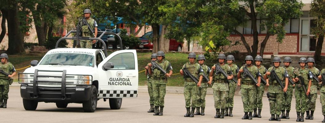 Guardia Nacional ya está en Acapulco; arriban 83 agentes